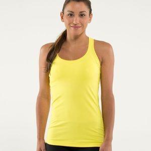 Yellow lululemon crb 4